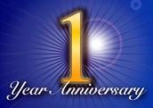 1 Year Anniversary Event!
