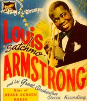 Louis Armstrong's show concert cover!