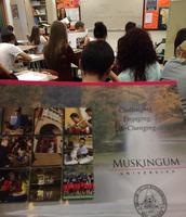 Muskingum University Visits NLHS