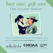 Our Buy One, Gift One Military Gifting Starts November 6
