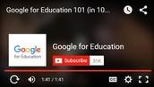 YouTube: Google for Education