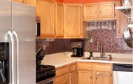 Kitchen with Stainless Steel Appliances!