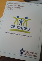 CB CARES PROVIDES COMMUNITY OF CONCERN BOOKLETS