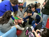 Dog Therapy with DLP Students