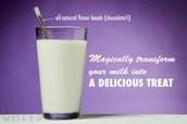 Magic Milk Staraw Ad