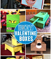Great Blog for Boy Valentine Boxes