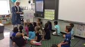 Ben Franklin Visits 2nd Grade!!