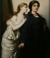 Ismene and Antigone