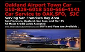 Oakland Airport Town Cars Service
