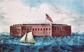 The battle of Fort Summter