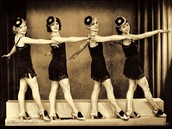 Flappers of the 1920's