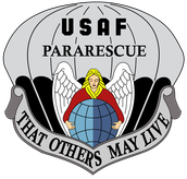 Official Insignia of the USAF Pararescue