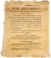 War being Declared!