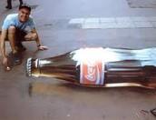 3D Coca-Cola Bottle