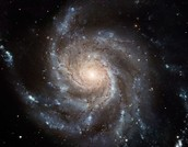 Spiral Galaxy M101 By: Hubble