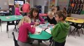 1st Grade Christmas Workshops