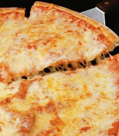 This is my cheese pizza.