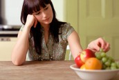How does depression affect one's appetite?