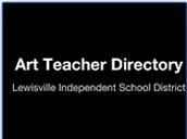 Art Teacher Directory