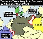 Territory Lost from Germany