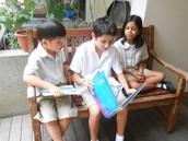 Sharing the joys of reading