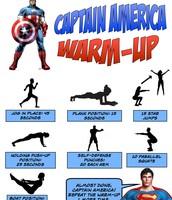 Captain America Warm-Up