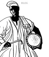 The Talking Drum and the Griots