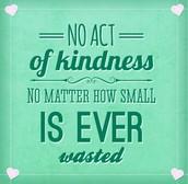Random Acts of Kindness Week Begins