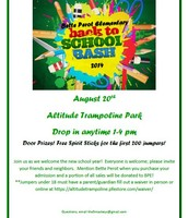 Back to School Bash - August 20