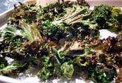 roasted greens