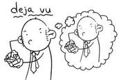 Cartoon Deja Vu