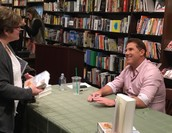 Author Nicholas Sparks visited Leawood!