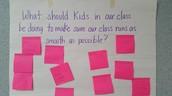 Brainstorming Class Goals
