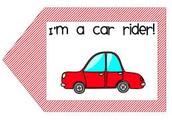 New Dismissal Car Rider Routine