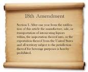 38. 18th Amendment