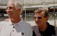 Joe Paterno and Jerry Sandusky