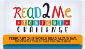 World Read Aloud Day - February 24 - Scholastic Challenge