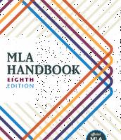 MLA 8th Edition  - NEW