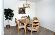 Raised dining room