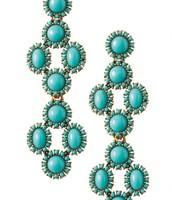 Sardinia Earrings in Turquoise