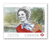 Laura Secord Stamp