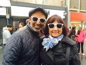 Yatish and his Mum