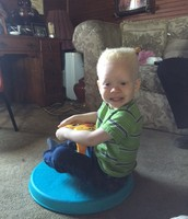 KJ on his Sit and Spin!
