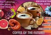 Rain International Fused Black Seed Coffee
