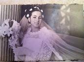סבתה שלי בחתונה שלה