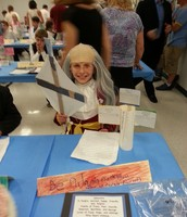 Sebastien as Ben Franklin- Can you see the lightning?