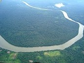 תמונת לווין של הנהר