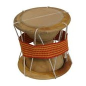 the use of talking drums with other uses of music in West Africa