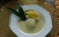 Durian Tempoyak it is one of food in Brunei Darussalam