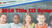 Title III Symposium - Austin - July 25-27